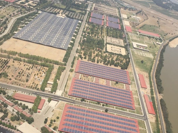 Worlds largest rooftop solar power plant inaugurated in Punjab